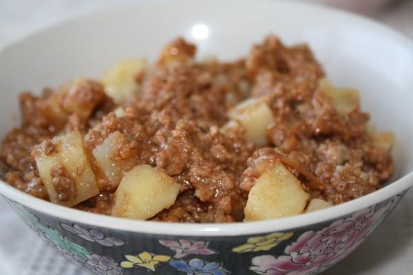cuban beef picadillo here it serves as the filling beef picadillo