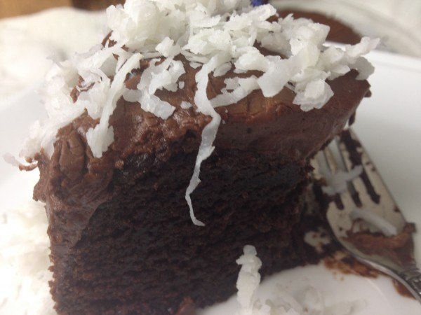 Chocolate Cake Recipe Japanese: Chocolate Fudge Cake With Coconut And Rum