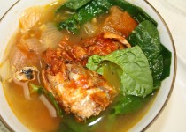 "Sardines-Spinach and Tomatoes Soup: ""Sabo Tacsyapu na!"""
