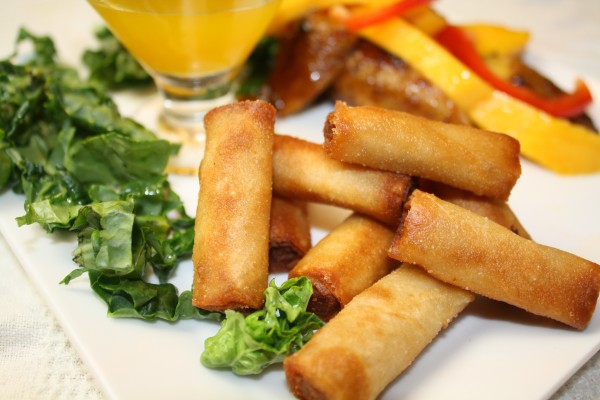How to make Lumpia Shanghai : Egg Rolls with Ground Pork and Sweet ...