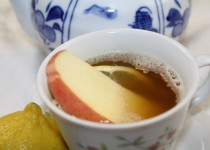 Filipino Salabat Recipe, Ginger Tea with Lemon Honey Creme
