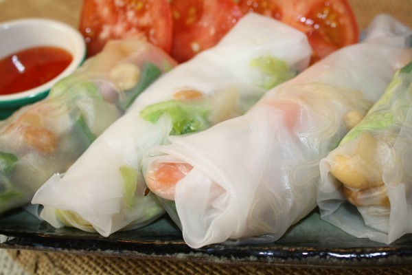 How To Make Vegetable Rolls Carrots Cabbage Beans Potatoes In Vietnamese Rice Paper