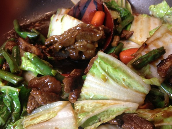 Beef Teriyaki And Cabbage Stir Fry Asian In America