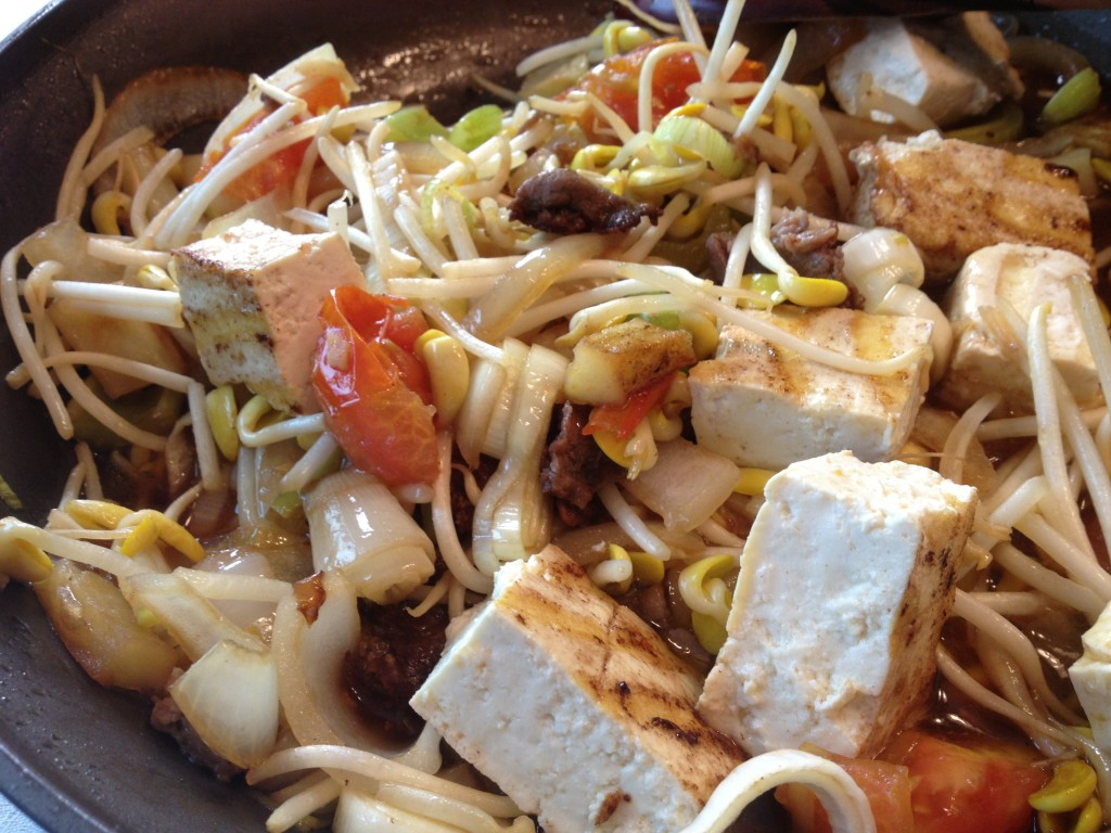 Bean Sprout Tofu Recipe Bean Sprouts With Tofu