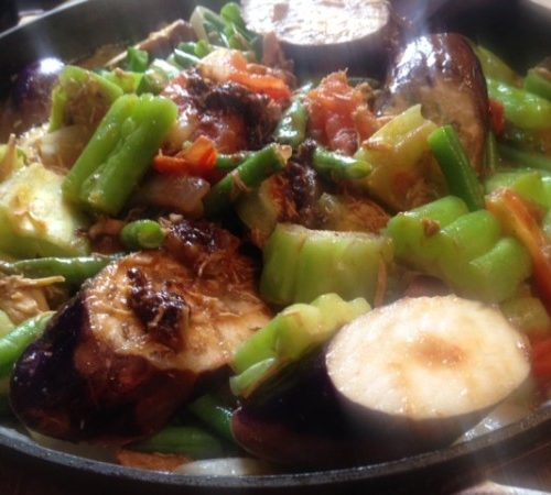 Pinakbet Filipino Vegetable Stew In Shrimp Paste Asian In America