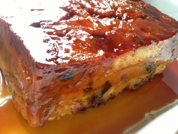 How to make Brioche Bread Pudding with Caramel Topping