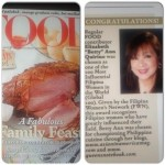 Food Mag feature on BAQ - Dec-Jan 2014 Issue