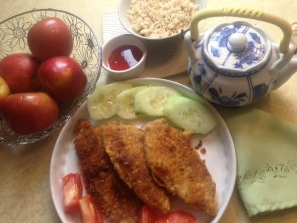 How to make breaded tilapia fish fillets asian in america for How to bread fish