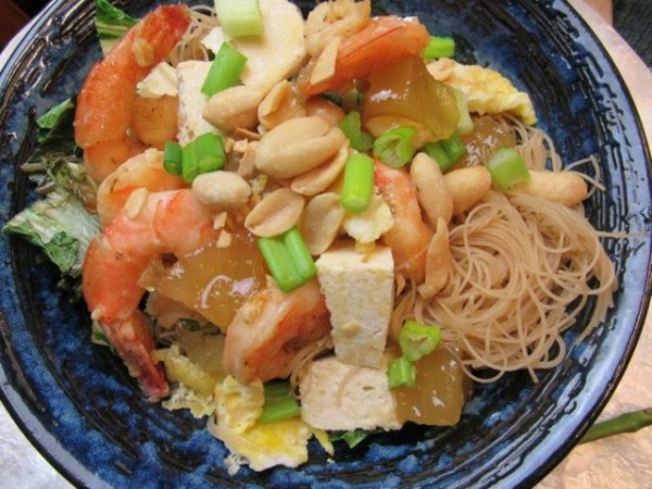 how to cook wide rice noodles