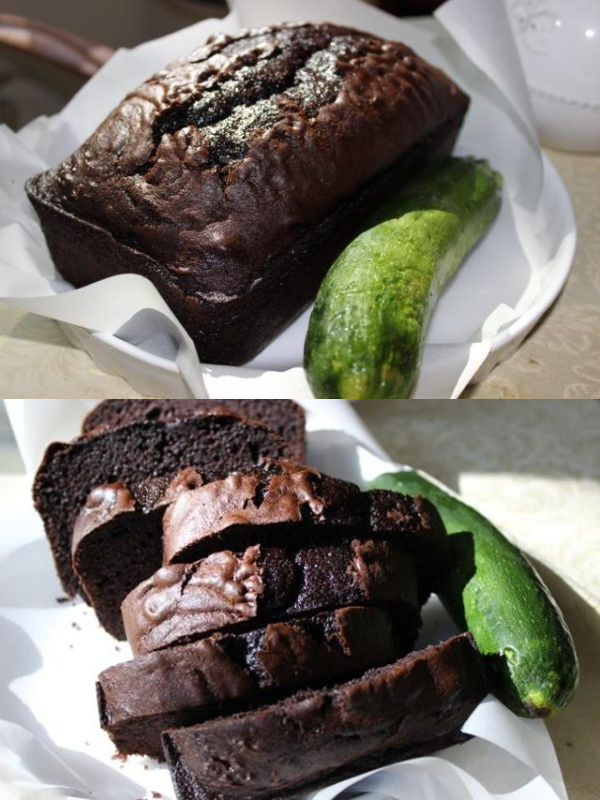 Asian in America Chocolate Zucchini Bread After Photo Recipe
