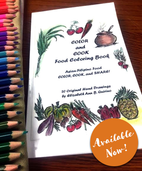 Color and Cook Adult Coloring Book