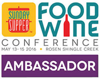 Food and Wine Conference Ambassador  2016