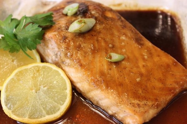 How to cook salmon honey lemon teriyaki for sundaysupper asian mom cooks salmon so well my son often exclaims as he digs into the dish in front of him among the many ways i cook it this salmon honey lemon teriyaki ccuart Gallery